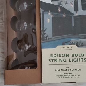Smith & Hawken Edison Bulb String Lights